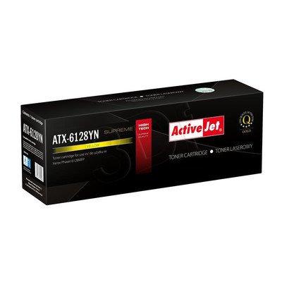 ActiveJet ATX-6128YN żółty toner do drukarki laserowej Xerox (zamiennik 106R01458) Supreme