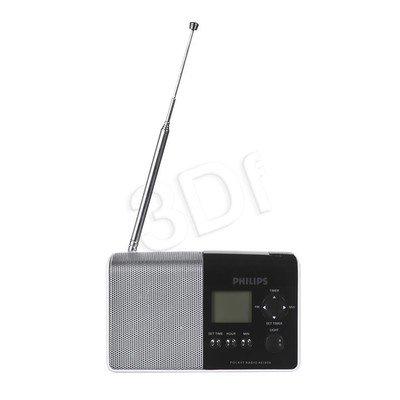 Radio przenośne Philips AE1850/00 czarno-srebrny
