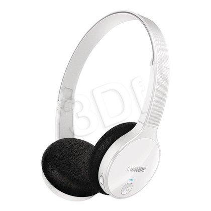 Słuchawki nauszne Philips SHB4000WT/10 (Biały Bluetooth)