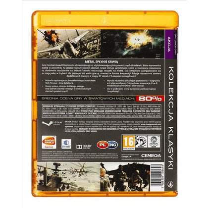 Gra PC PKK Ace Combat Assault Horizon