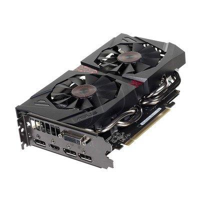 ASUS GeForce GTX 960 2048MB DDR5/128bit DVI/HDMI/DP PCI-E (1178/7010) (wer. OC - STRIX) (wentylator DirectCU II)