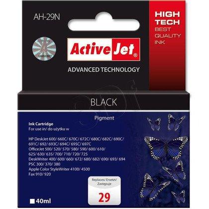 ActiveJet AH-29N tusz czarny do drukarki HP (zamiennik HP 29 51629A) Supreme