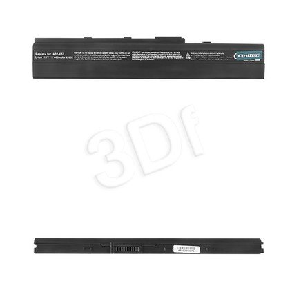 QOLTEC BATERIA DO NTB ASUS A32-K52, 4400mAh, 11.1V