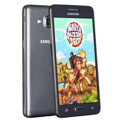 "Smartphone Samsung Galaxy Grand Prime 8GB 5"" szary LTE"