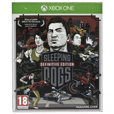 Gra Xbox ONE Sleeping Dogs Definitive Edition