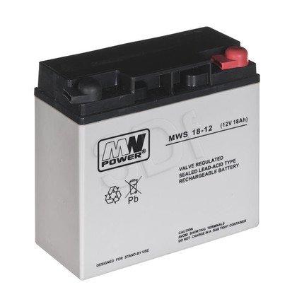 Akumulator MPL 12V 18Ah MWS 18-12