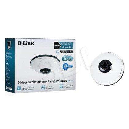 D-LINK [DCS-6010L] Kamera IP fisheye [wewnętrzna][2 Mega-Pixel][H.264][WIFI]