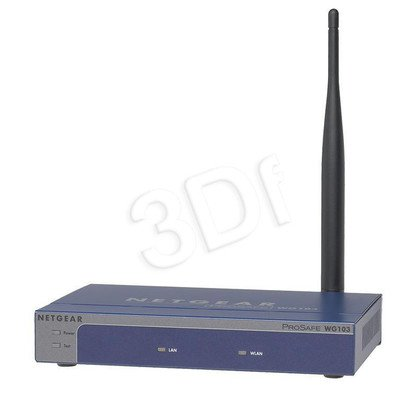 NETGEAR [ WG103 ] ProSafe Wireless Access Point 108 Mbps 802.11g [ Gwarancja LifeTime ]