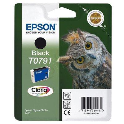 EPSON Tusz Czarny T0791=C13T07914010, 11 ml
