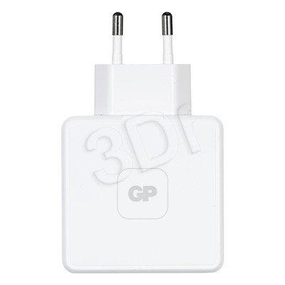 GP ŁADOWARKA USB (2 x 2.4A) BIAŁA