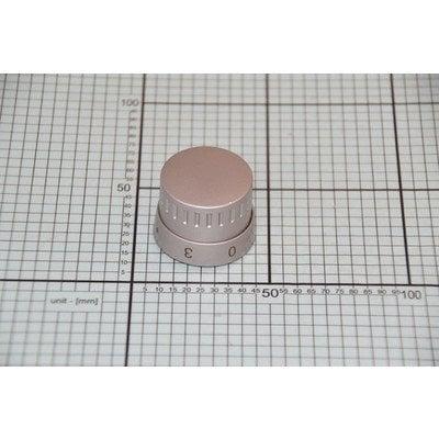 Pokrętło płytki grzejnej z 3 z prawej scandium A 1109 inox (9062510)