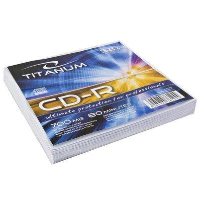 TITANUM CD-R 700MB/80min-Koperta 10 52X