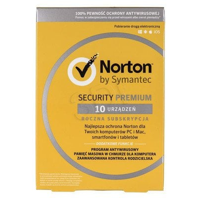NORTON SECURITY PREMIUM 3.0 25GB PL 10D/12M CARD MM