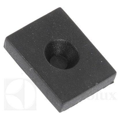 Element buforowy tylnej kapilary piekarnika, czarny (3874985017)