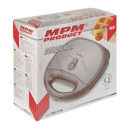 Gofrownica MPM MGO-07M (750W/ srebrna)