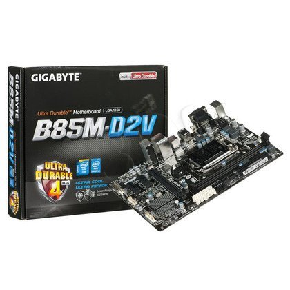 GIGABYTE GA-B85M-D2V B85 LGA1150 mATX