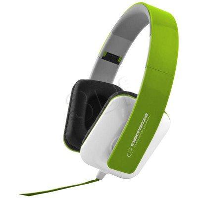 Słuchawki nauszne Esperanza JAZZ EH137G (Zielony)