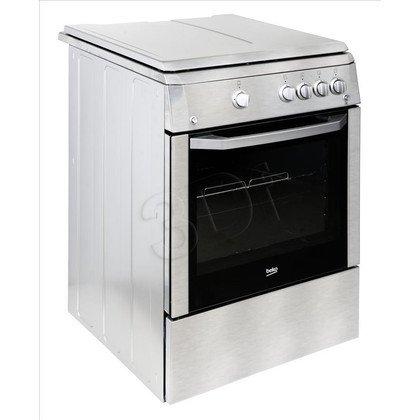 Kuchnia Beko CSG 62020 DX (Płyta Gazowa Piekarnik Gazowy szer. 600mm Inox)