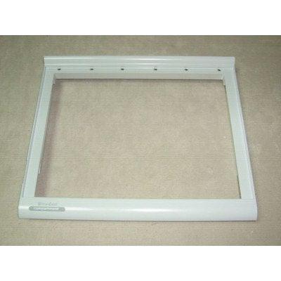 Ramka półki szklanej 40.5x34 cm Whirlpool (481245088485)