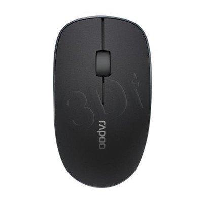 RAPOO Mysz bezprzewodowa optyczna 3500P 1000dpi czarna