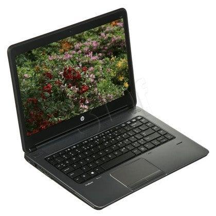 """HP ProBook 640 G1 i5-4210M 4GB 14"""" HD+ 128GB HD4600 Win7P Win8.1P Czarno-srebrny F1Q68EA 1Y"""