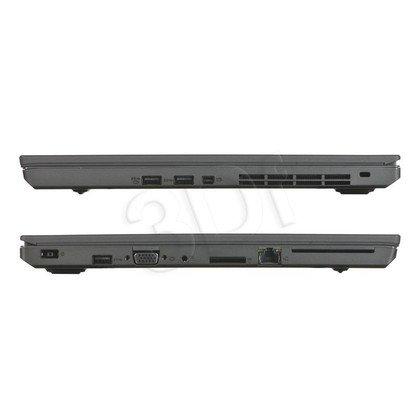 """LENOVO ThinkPad T550 i5-5300U 8GB 15,6"""" FHD 256GB HD5500 LTE Win7P W10P Czarny 20CK003FPB 3Y"""