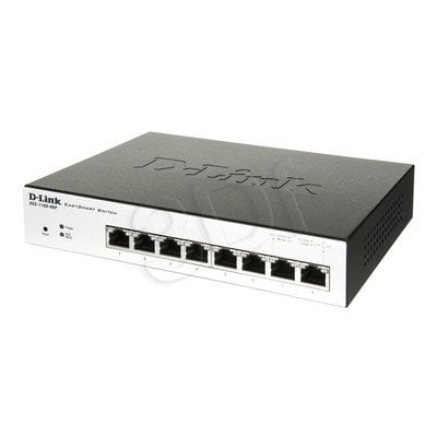 D-LINK DGS-1100-08P 8-Port Gigabit PoE Switch