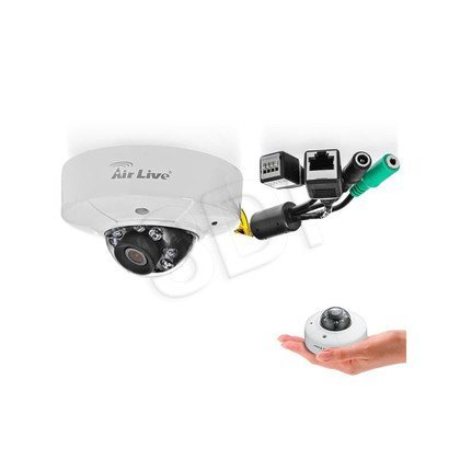 Kamera IP AirLive MD-3025-IVS 2,6mm 3Mpix Dome