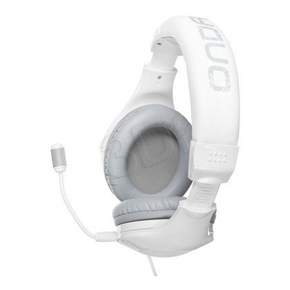 Słuchawki wokółuszne z mikrofonem OZONE ONDA PRO (Biało-szary)