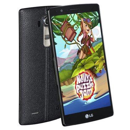 "Smartphone LG G4 H815 32GB 5,5"" Czarna skóra LTE"