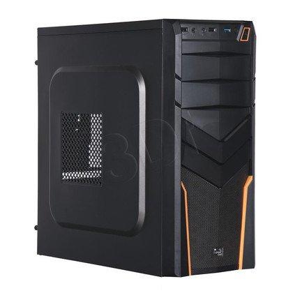 OBUDOWA AEROCOOL V2X BLACK/ORANGE - USB3.0 - CZARNO-POMARAŃCZOWA