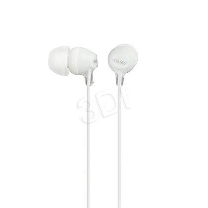 Słuchawki douszne Sony MDR-EX15LPW (Biały)