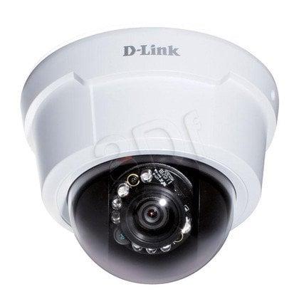 D-LINK [DCS-6113] Kamera IP kopułkowa [wewnętrzna] [2 Mega-Pixel] [PoE 802.3af] [ONVIF] [H.264] [IR] [2-way audio, slot SD, BNC, ePTZ]