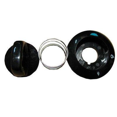 Pokrętło palnika, czarne (9003082)