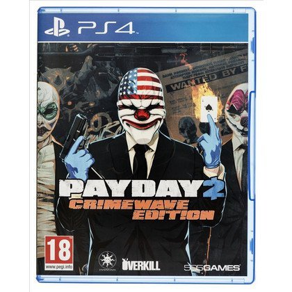 Gra PS4 Payday 2 Crimewave Edition