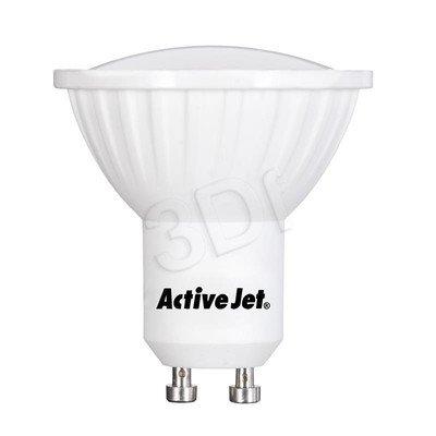 ActiveJet AJE-NS2410W Lampa LED SMD 380lm 5,5W GU10 barwa biała zimna