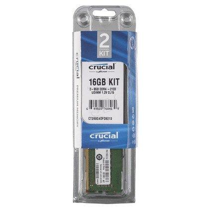 Crucial DDR4 UDIMM 16GB 2133MT/s (2x8GB) CT2K8G4DFD8213