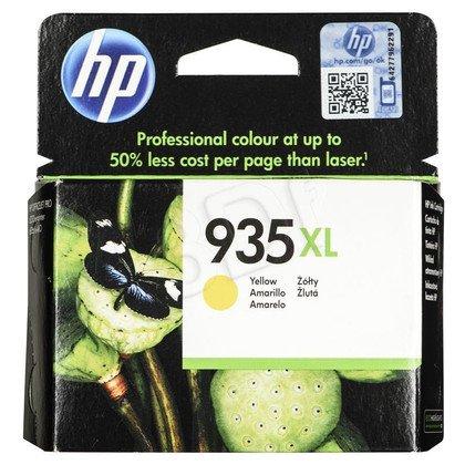 HP Tusz Żółty HP935XL=C2P26AE, 825 str.