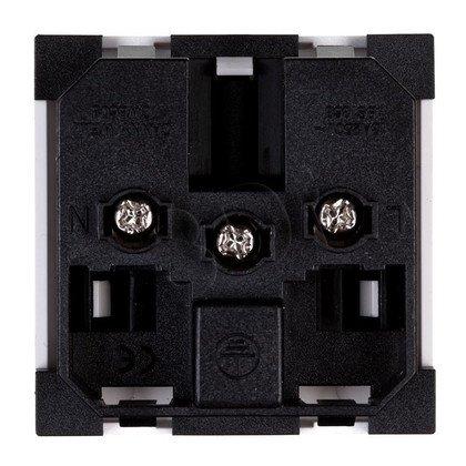 ALANTEC Gniazdo elektryczne 45x45, białe UK