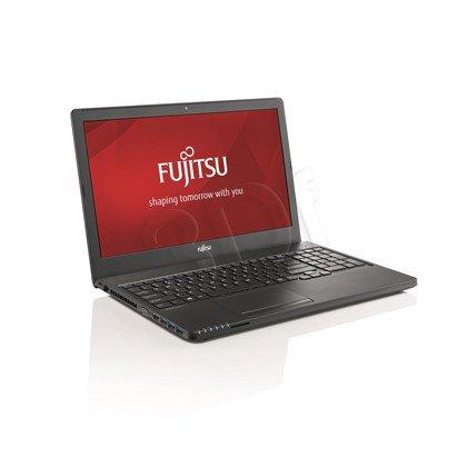 """Fujitsu LIFEBOOK A555 i5-5200U 8GB 15,6"""" FHD 256GB HD5500 R7 M260 Win7P W10P Czarny 2Y"""