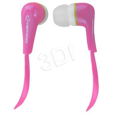 Słuchawki douszne Esperanza LOLLIPOP EH146P (Różowy)