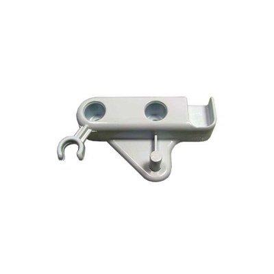 Zamknięcie zatrzaskowe drzwiczek białe lewe (C00045968)