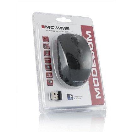 BEZPRZEWODOWA MYSZ MODECOM MC-WM6 BLACK