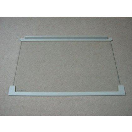 Półka szklana z ramkami 520x340 mm (dł. szyby 490 mm) (2251216178)