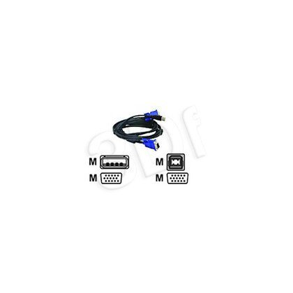 D-LINK DKVM-CU KVM Cable for DKVM-4U Switch