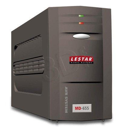 LESTAR UPS MD-655 625VA AVR 3+1XIEC USB RJ11 BLACK