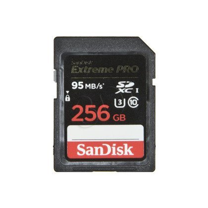 Sandisk SDXC Extreme PRO 256GB Class 10,UHS Class U3