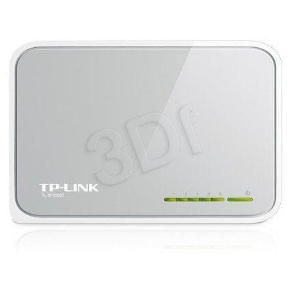 TP-LINK [TL-SF1005Dv.11] Przełącznik typu desktop, 5 portów 10/100Mb/s