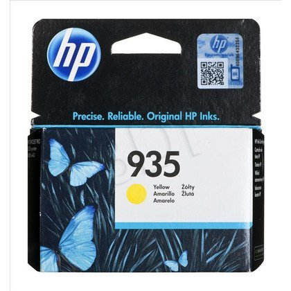 HP Tusz Żółty HP935=C2P22AE, 400 str.