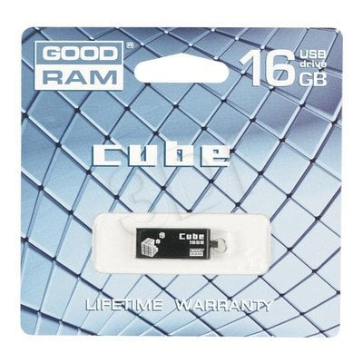 Goodram Flashdrive CUBE 16GB USB 2.0 Czarny